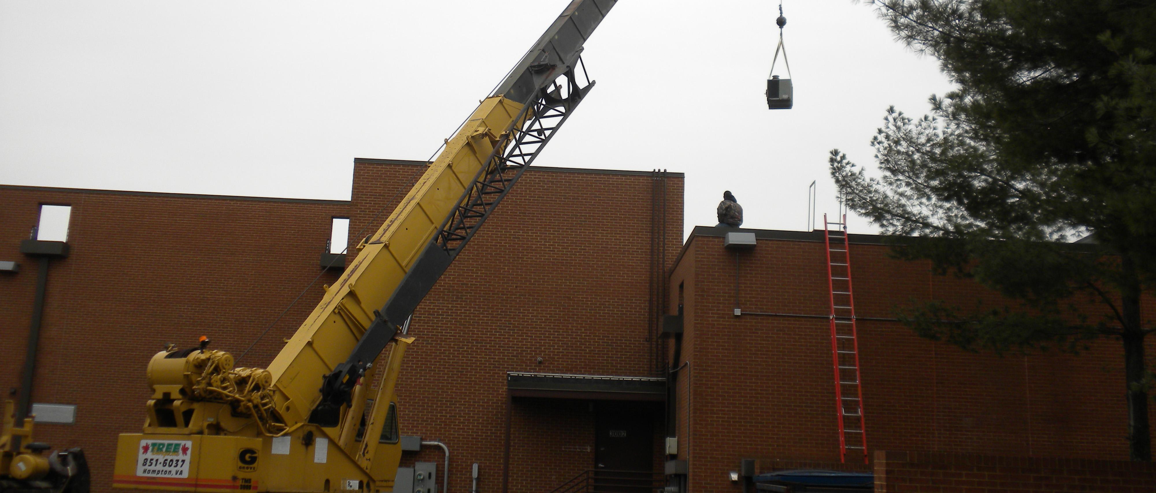 Crane Rental Hampton